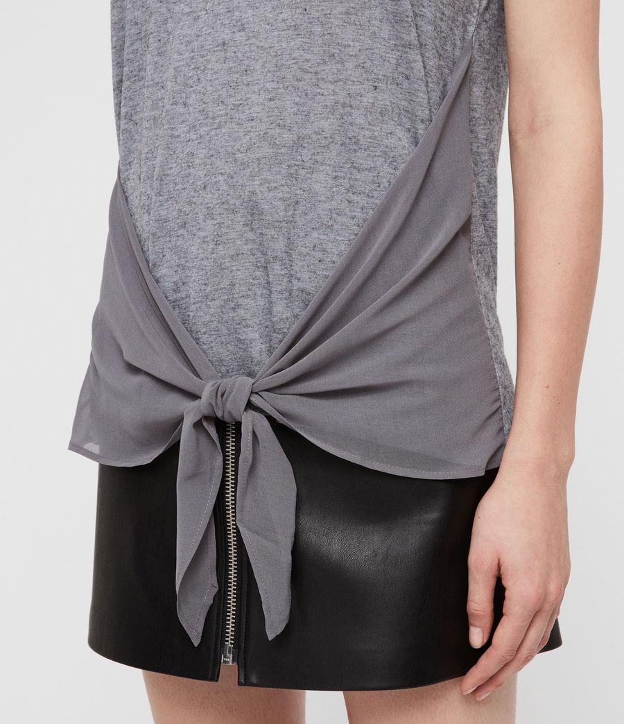 Women's Yato T-Shirt (grey_marl) - Image 2