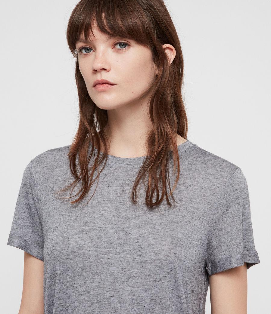 Women's Yato T-Shirt (grey_marl) - Image 3
