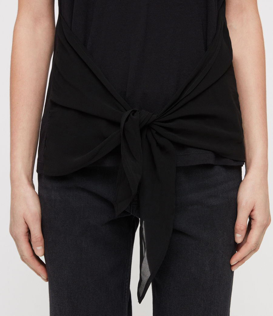 Femmes T-Shirt Yato (black) - Image 2