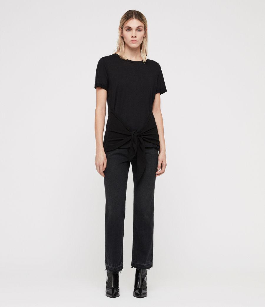 Femmes T-Shirt Yato (black) - Image 3