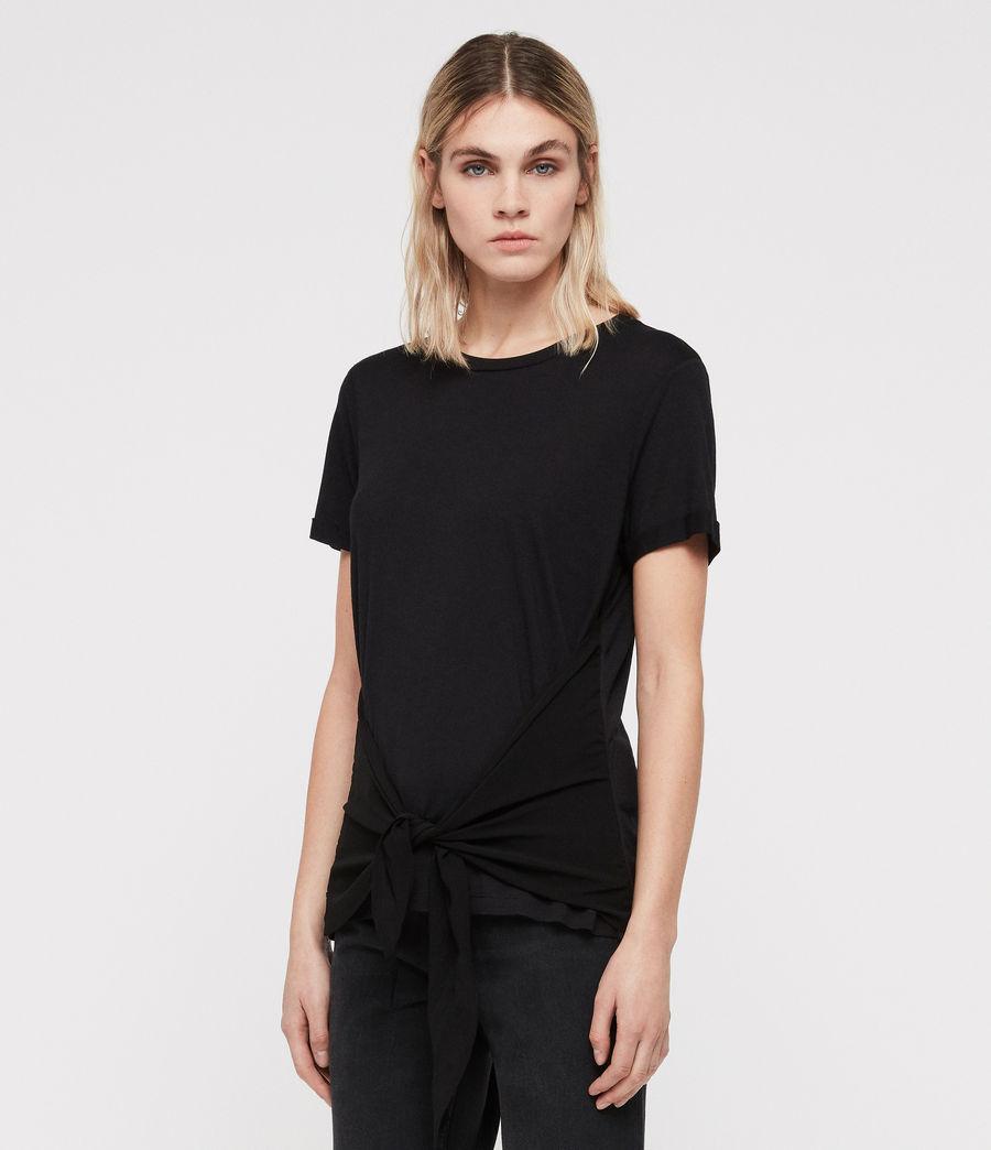 Femmes T-Shirt Yato (black) - Image 5