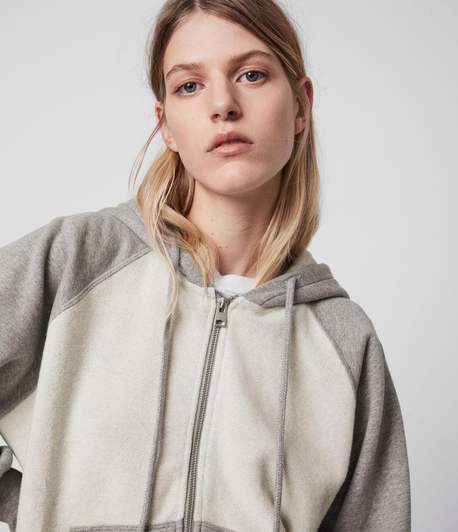 Womens Arrie Mix Hoodie (grey_marl) - Image 2