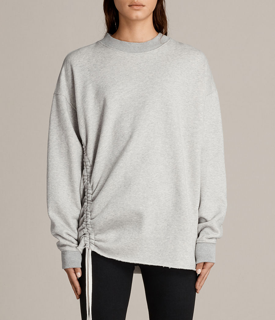 Damen Able Sweatshirt (grey_marl) - Image 1