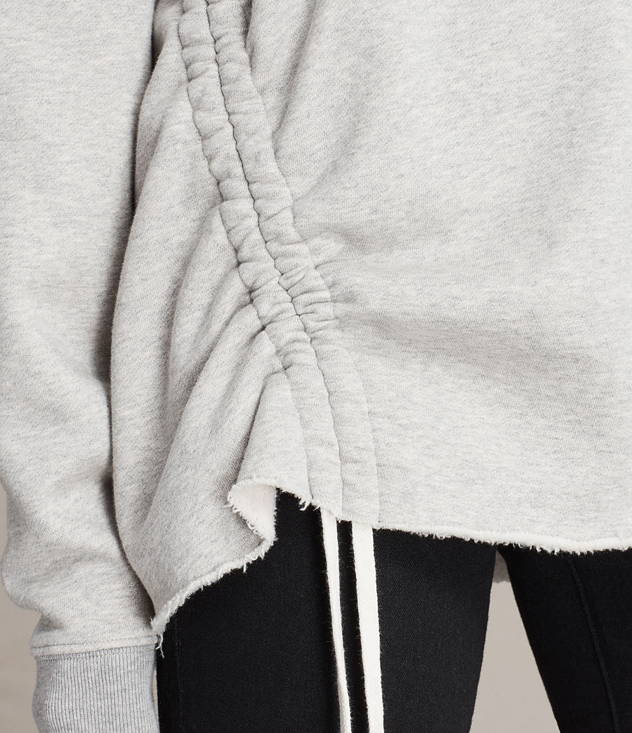 Damen Able Sweatshirt (grey_marl) - Image 2