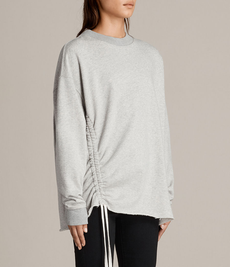 Damen Able Sweatshirt (grey_marl) - Image 3