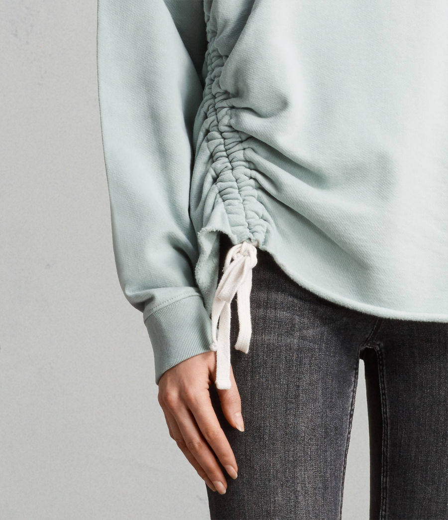 Women's Able Sweatshirt (mint_green) - Image 2