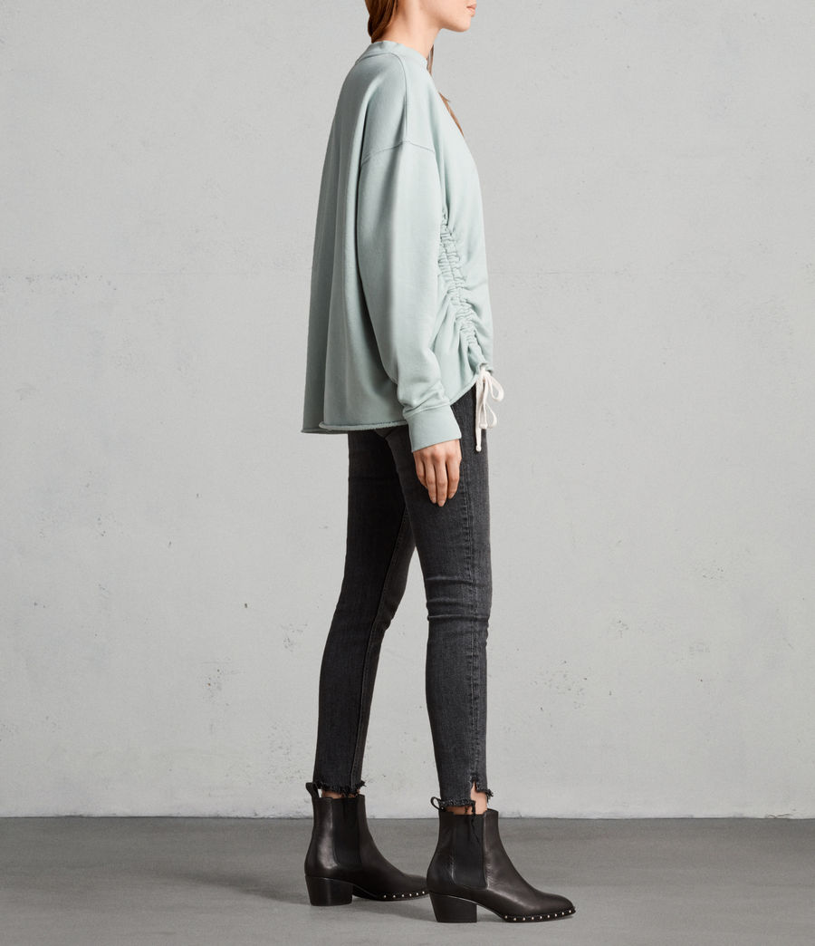 Women's Able Sweatshirt (mint_green) - Image 4