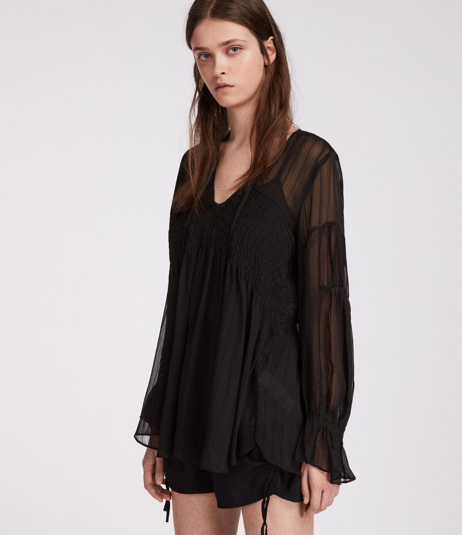 Womens Lucinda Top (black) - Image 1