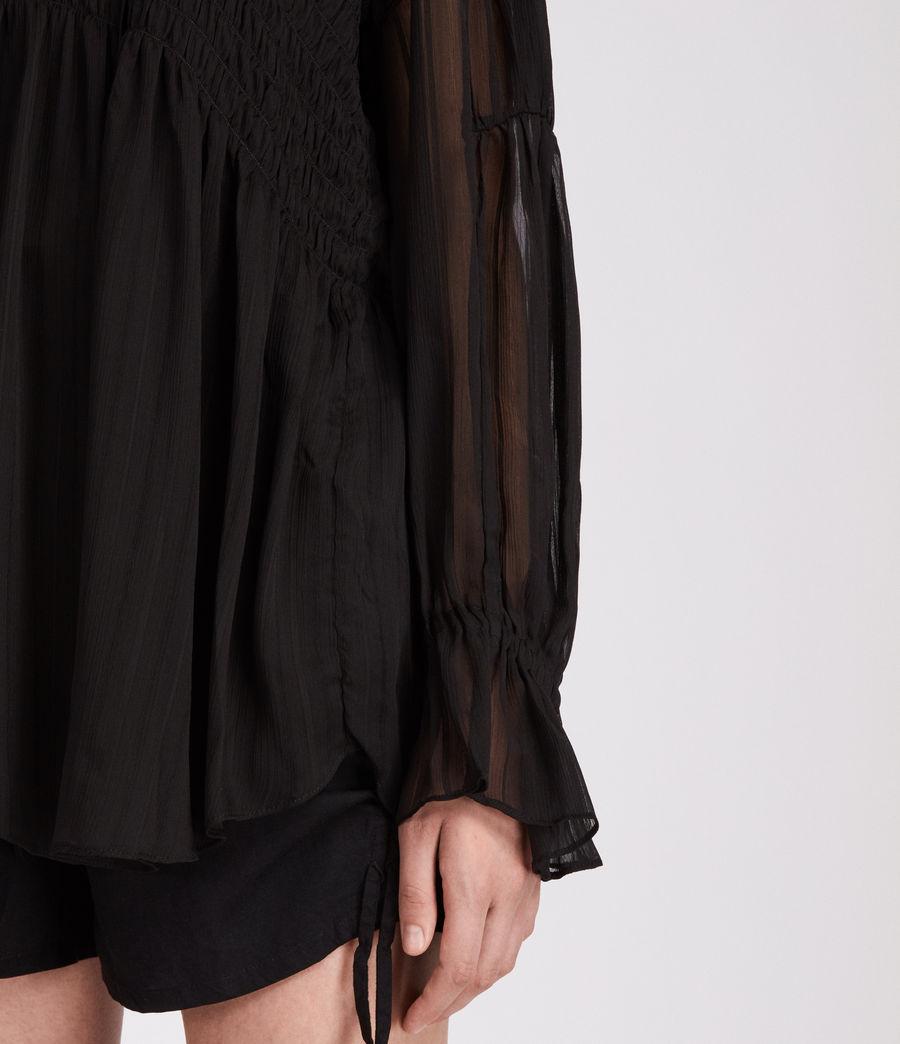 Womens Lucinda Top (black) - Image 4