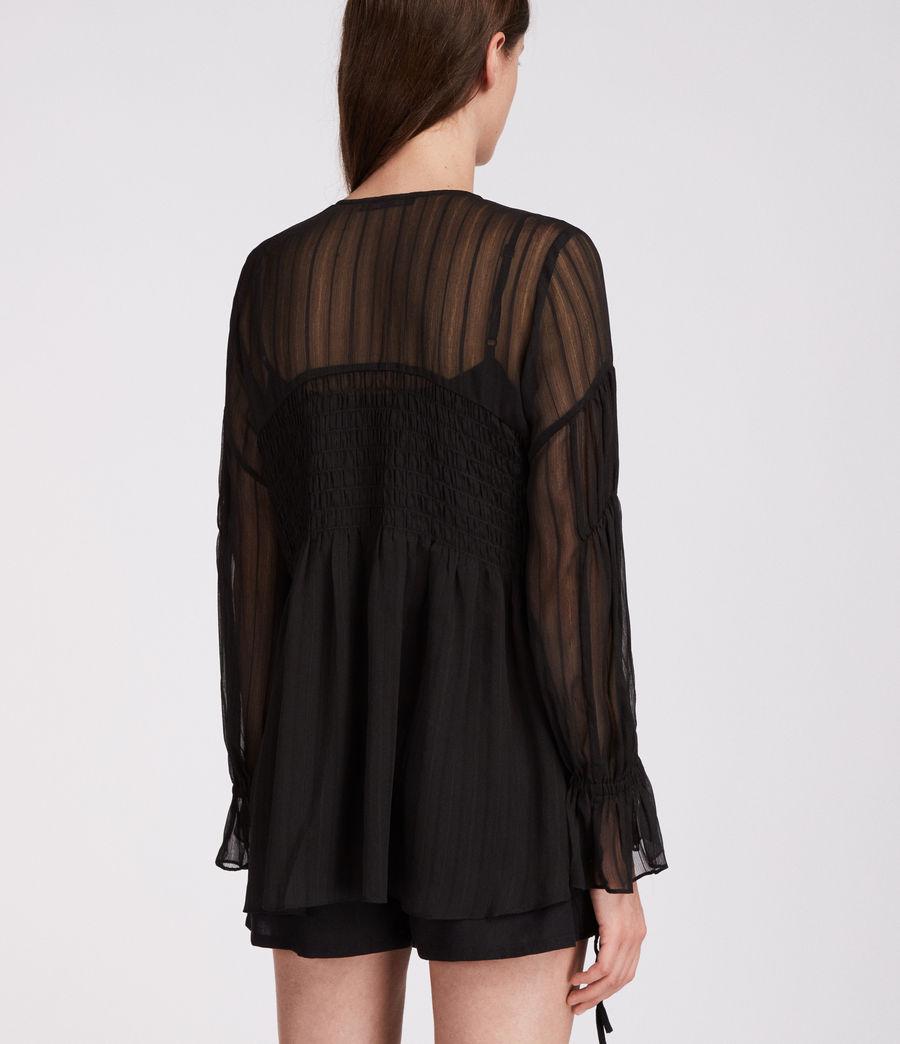 Mujer Top Lucinda (black) - Image 5