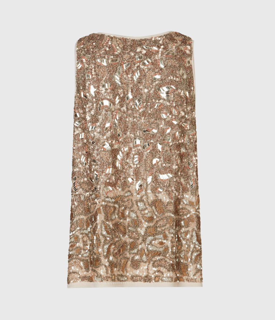 Women's Brellie Embellished Top (gold) - Image 3