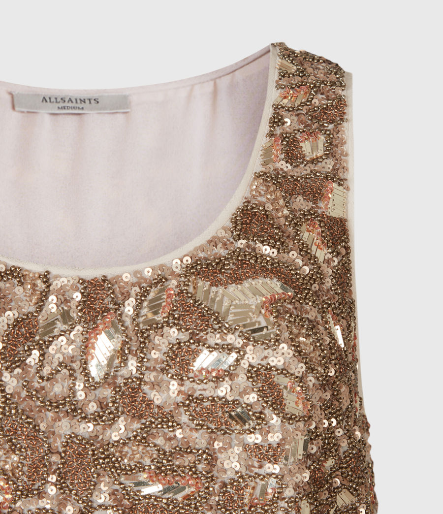Women's Brellie Embellished Top (gold) - Image 4