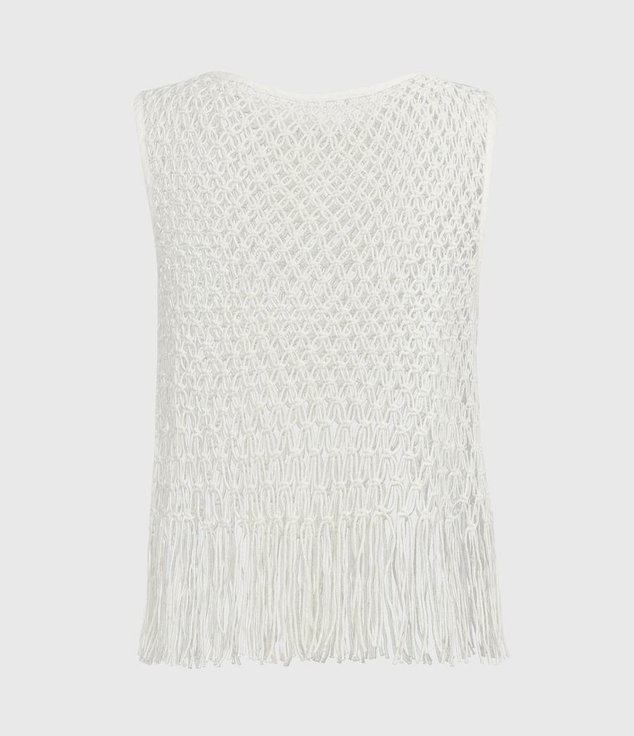 Womens Jesa Top (chalk_white) - Image 3