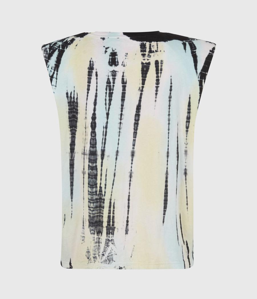 Femmes Coni Organic Cotton Tie Dye Tank (navy_blue_multi) - Image 3