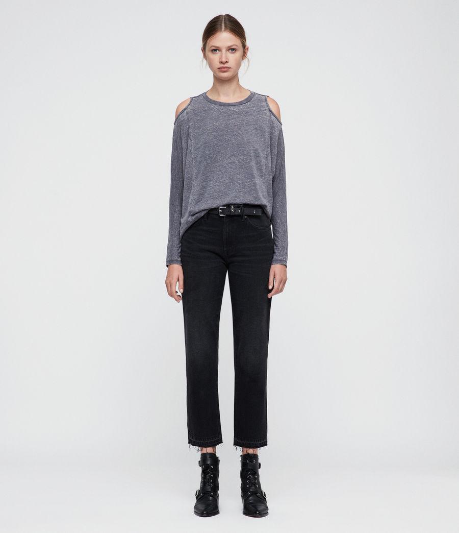 Womens Aino T-Shirt (coal_grey) - Image 3