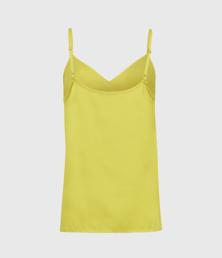 Women's Tami Top (chartreuse_yellow) - Image 2