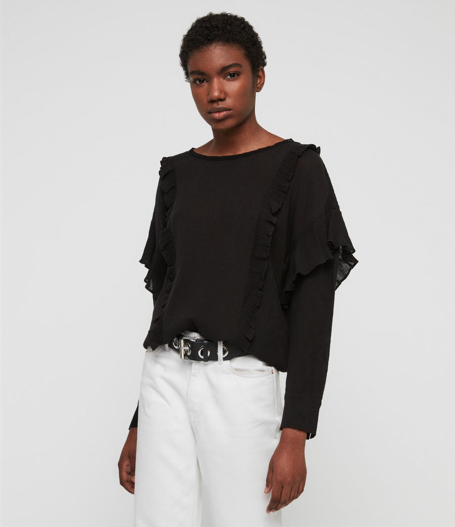 Women's Isa Top (chalk_white) - Image 4