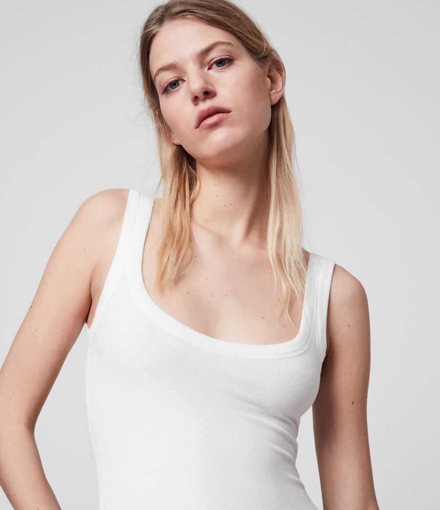 Womens Nino Bodysuit (chalk_white) - Image 2