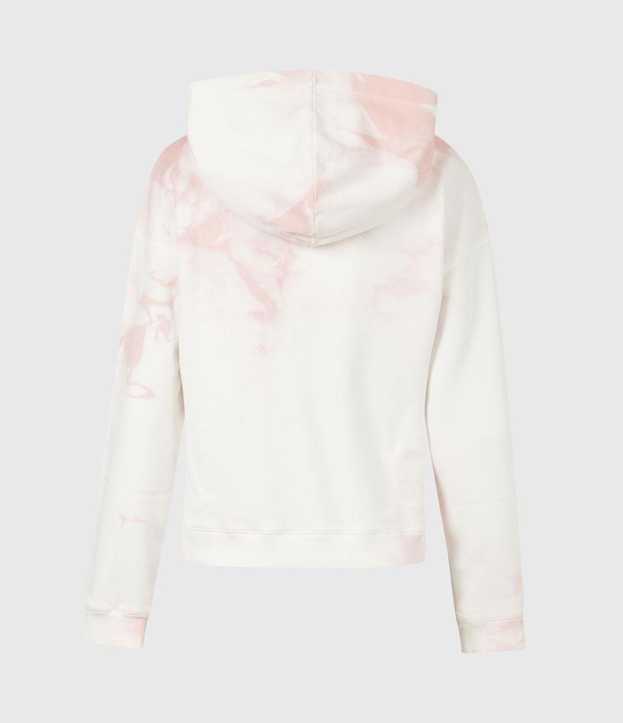 Damen AllSaints Sasha Tie Dye Hoodie (ash_rose_pink) - Image 3