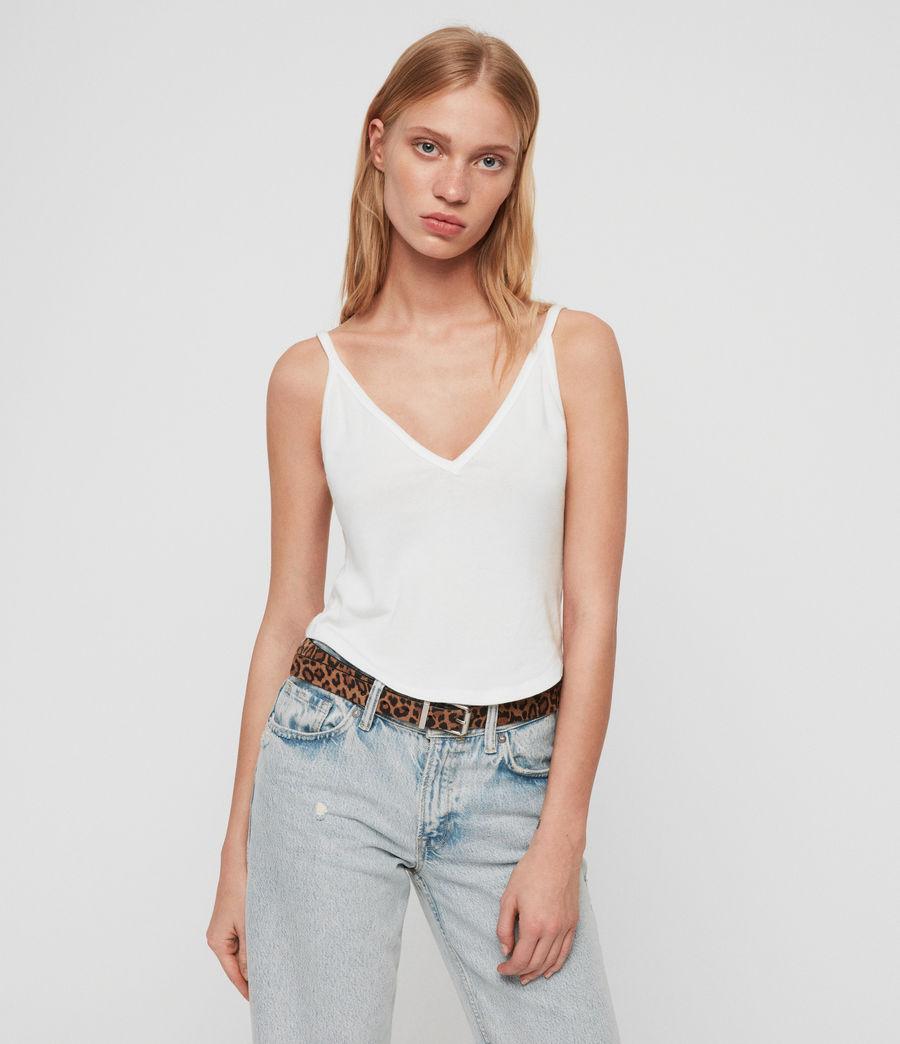 Women's Harla Vest (chalk_white) - Image 2
