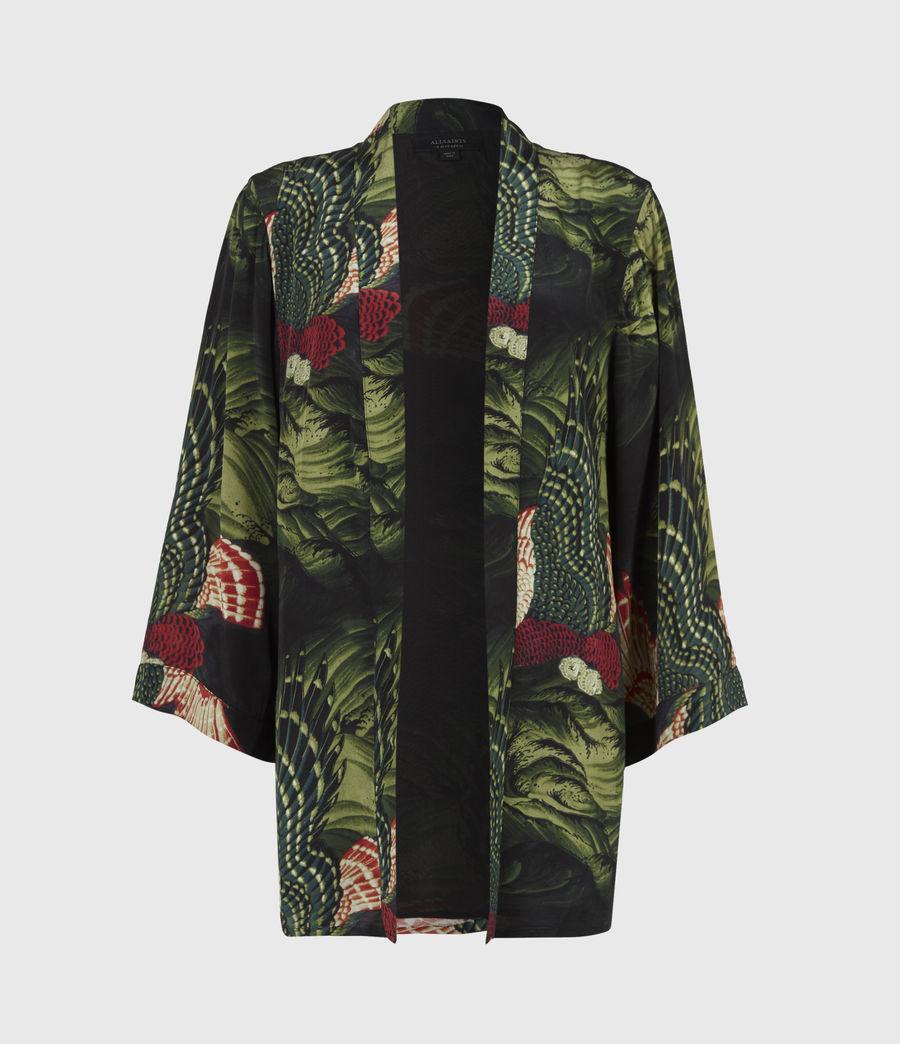 Womens Carina Swoop Kimono (moss_green) - Image 2