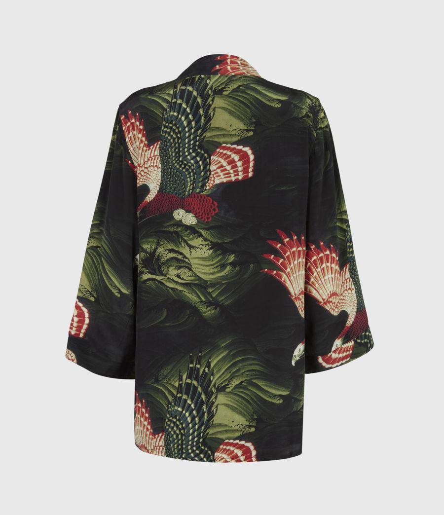 Womens Carina Swoop Kimono (moss_green) - Image 3