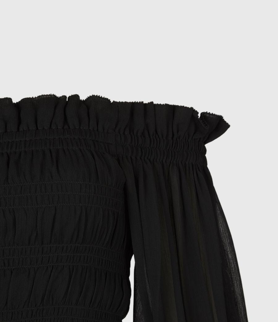 Women's Lara Top (black) - Image 5