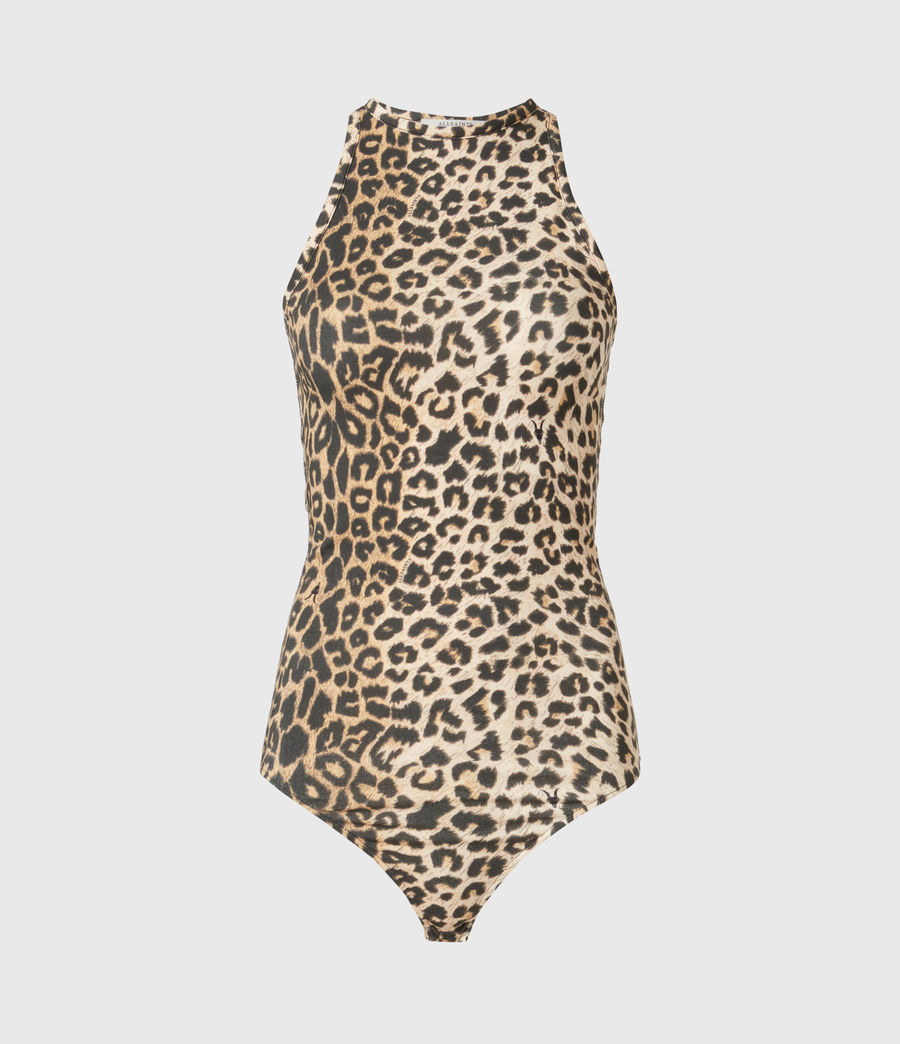Damen Jamie Leppo Bodysuit (leopard_yellow) - Image 2