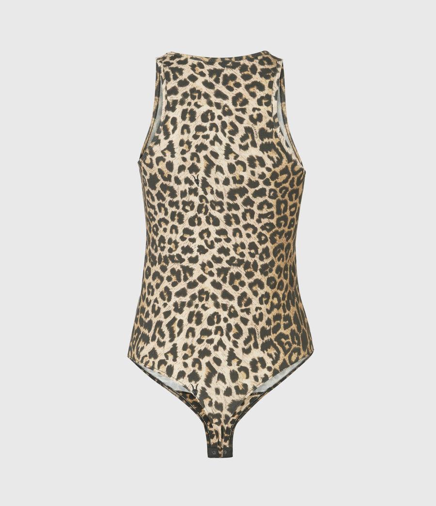 Damen Jamie Leppo Bodysuit (leopard_yellow) - Image 3