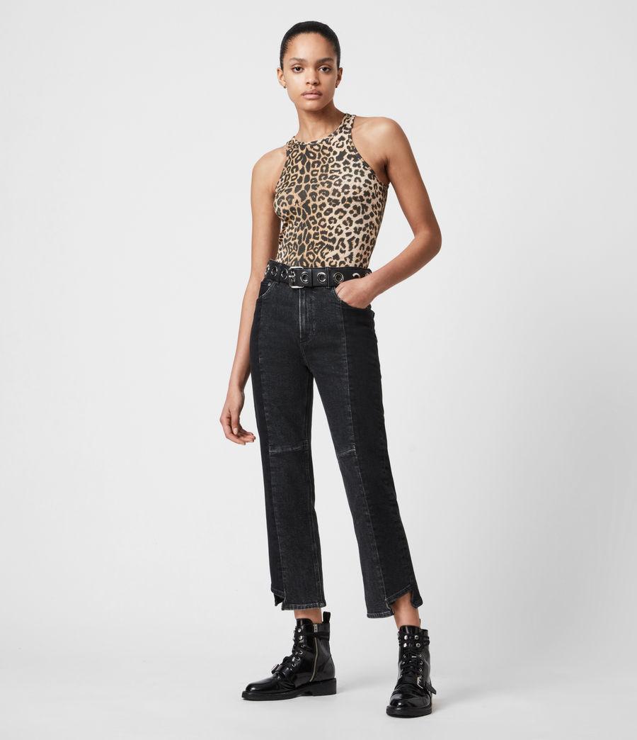 Damen Jamie Leppo Bodysuit (leopard_yellow) - Image 4