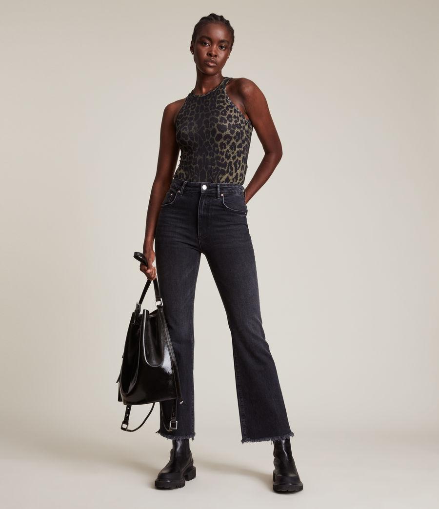 Damen Jamie Leppo Bodysuit (leopard_green) - Image 1