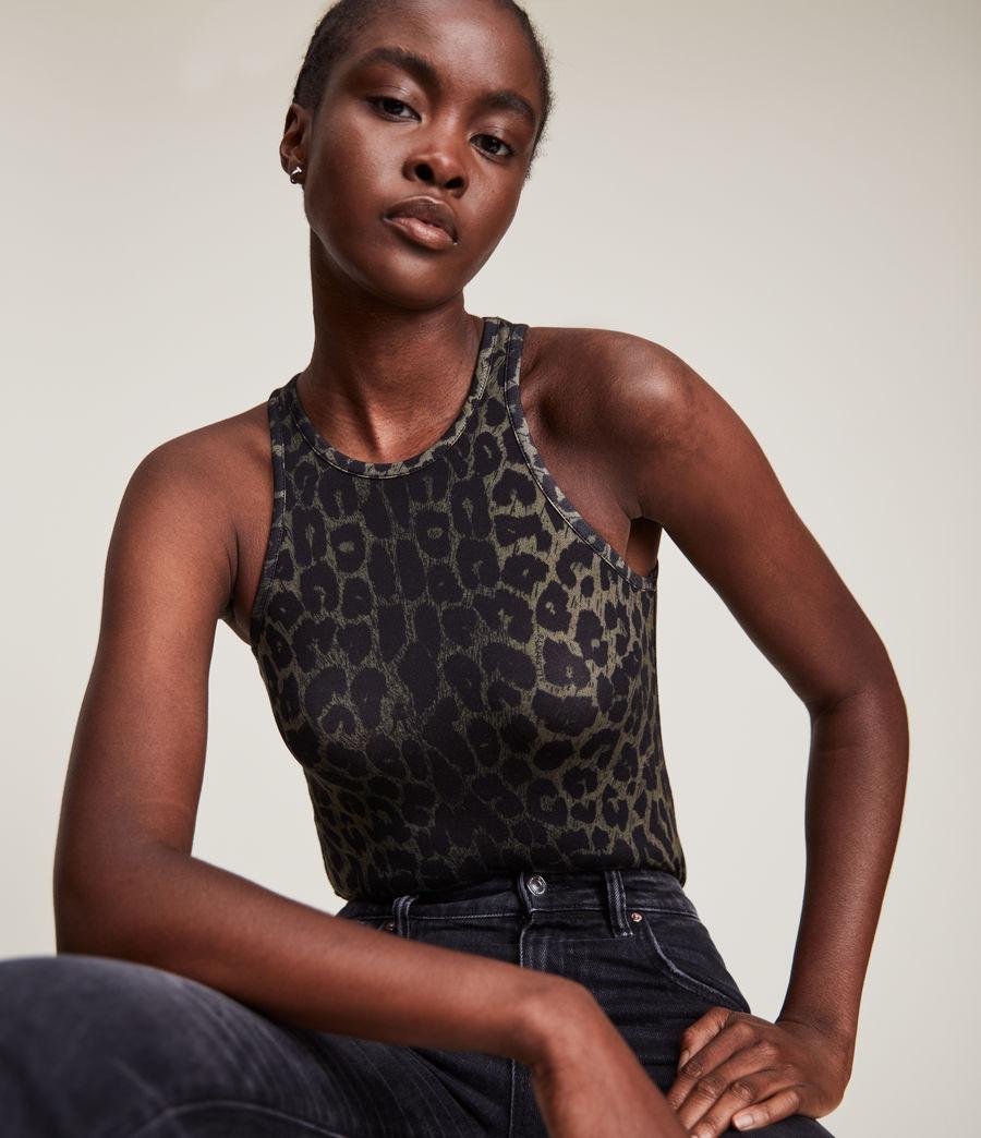 Damen Jamie Leppo Bodysuit (leopard_green) - Image 2