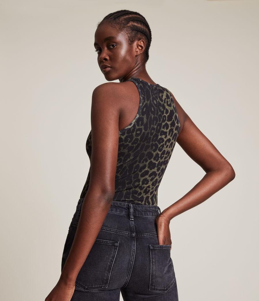 Damen Jamie Leppo Bodysuit (leopard_green) - Image 5