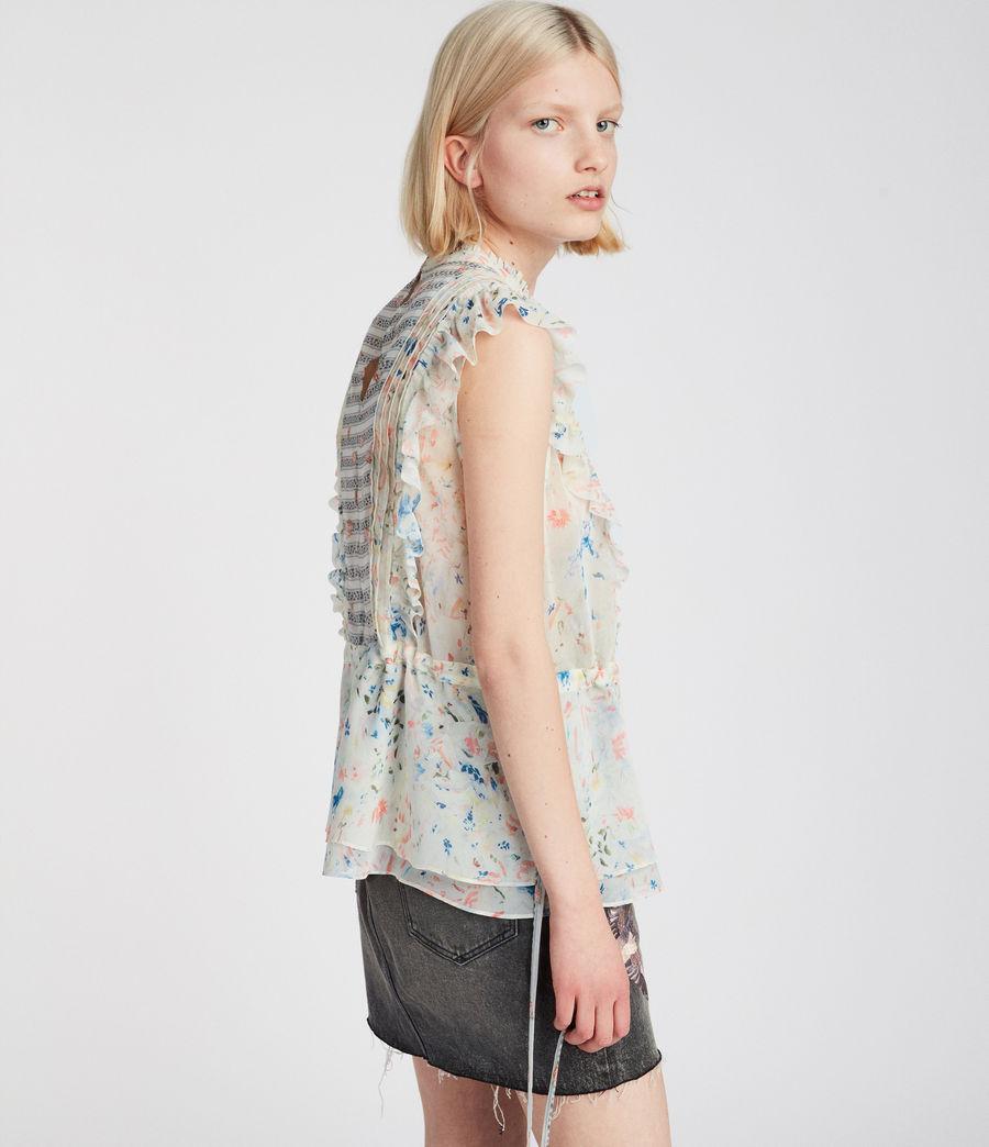 Womens Lena Juni Top (chalk_white) - Image 3