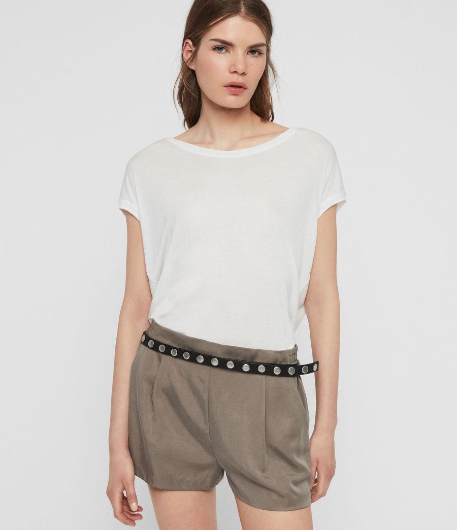 Womens Brea T-Shirt (chalk_white) - Image 1