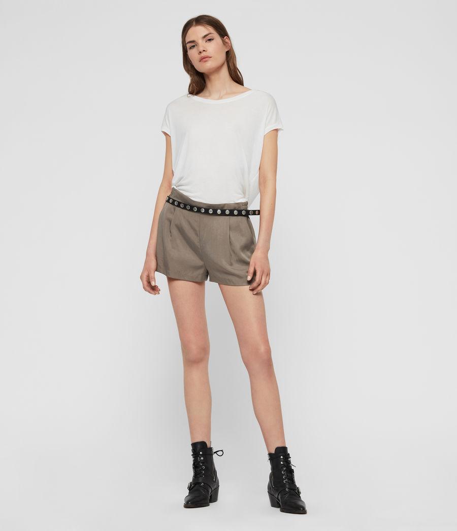 Womens Brea T-Shirt (chalk_white) - Image 2