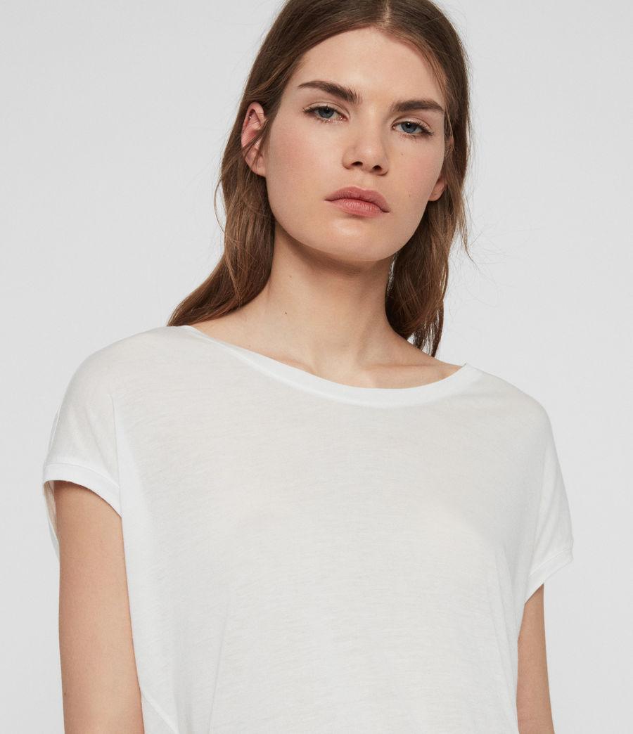 Womens Brea T-Shirt (chalk_white) - Image 3