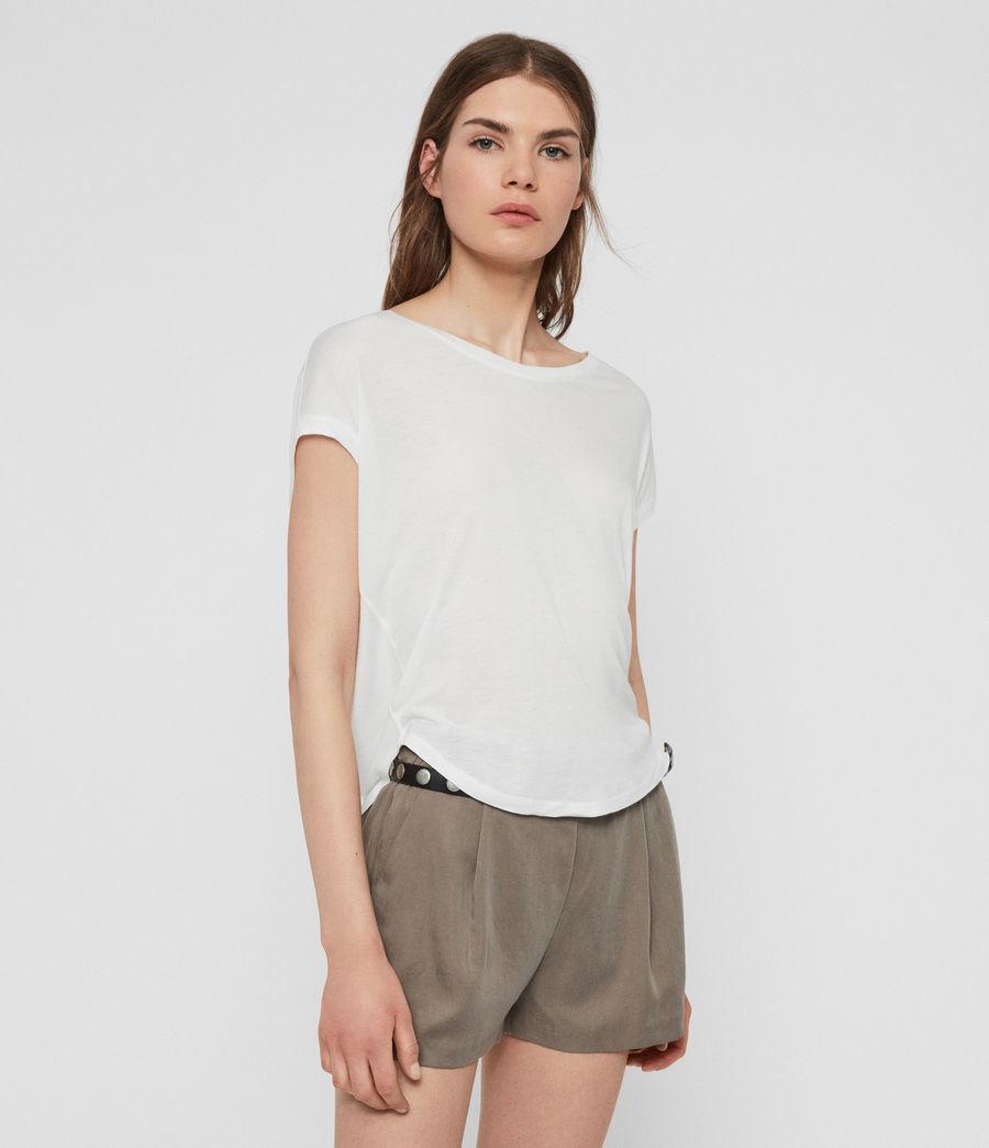 Womens Brea T-Shirt (chalk_white) - Image 4