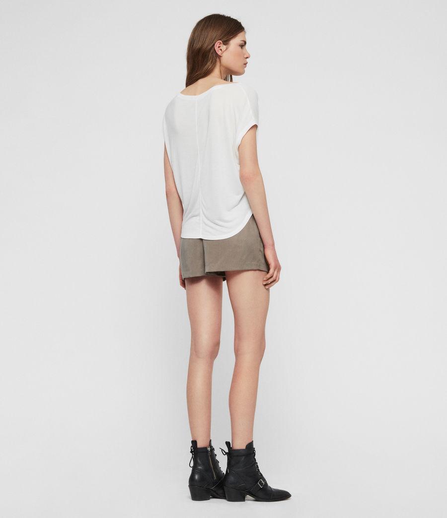 Womens Brea T-Shirt (chalk_white) - Image 5