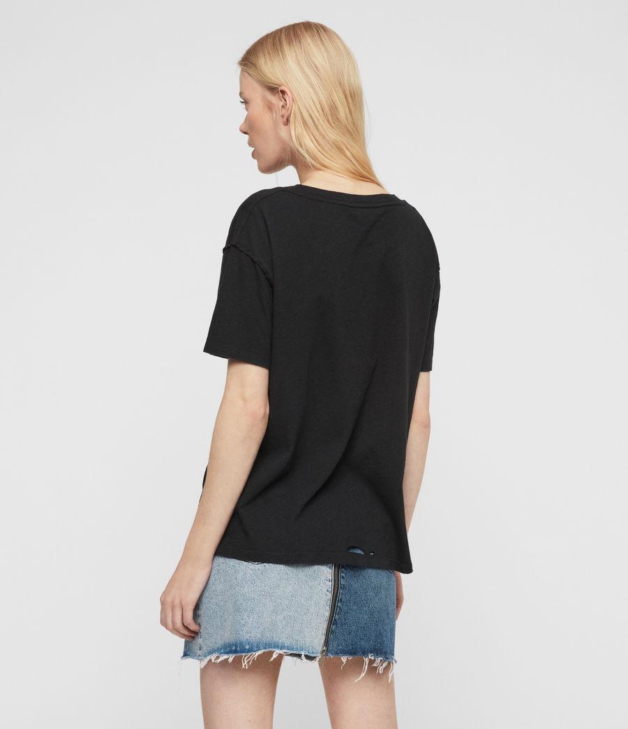 Womens Dime T-Shirt (black) - Image 5