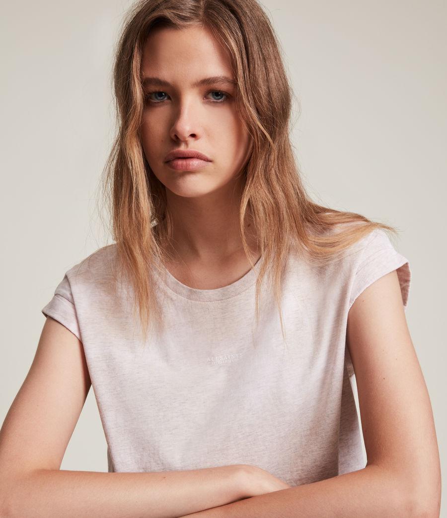 Women's Sasha Tie Dye T-Shirt (pink_marl) - Image 2