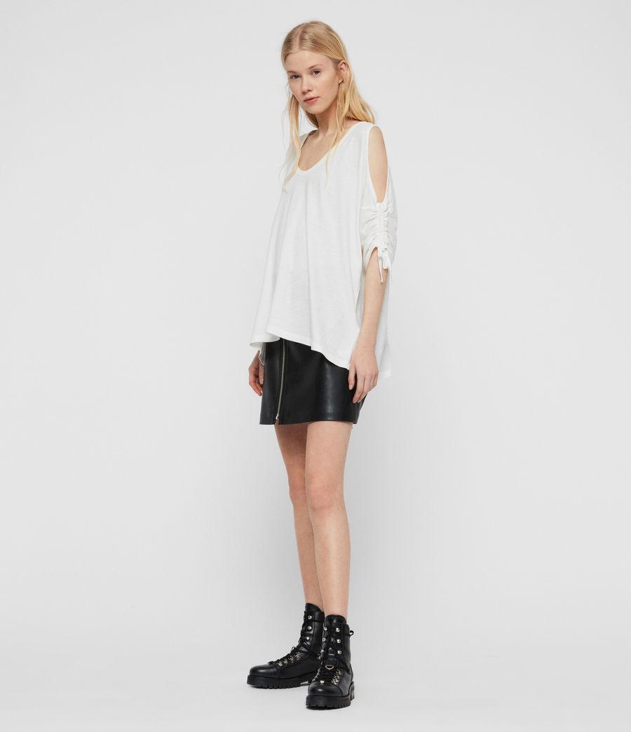 Damen Harper T-Shirt (chalk_white) - Image 3