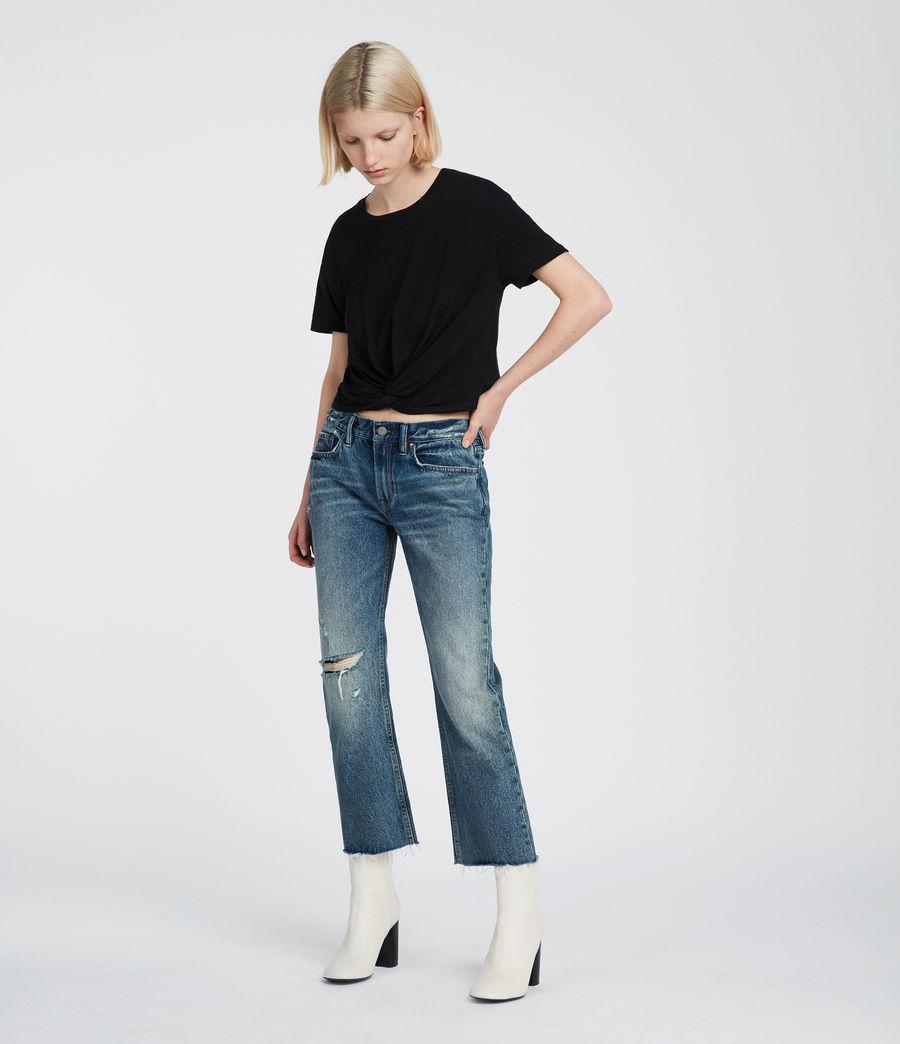 Damen Carme Fifi T-Shirt (jet_black) - Image 1
