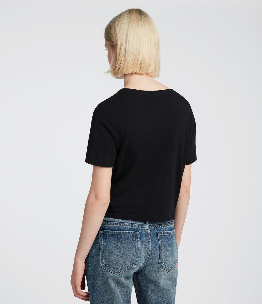 Damen Carme Fifi T-Shirt (jet_black) - Image 3