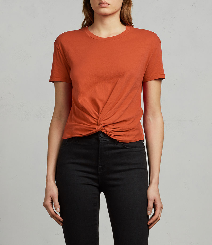 Women's Carme Fifi Tee (poppy_red) - Image 1