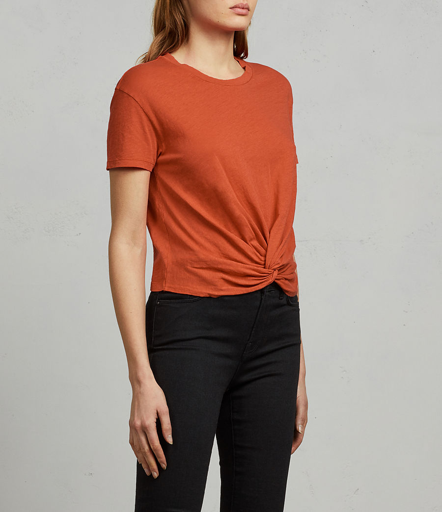 Women's Carme Fifi Tee (poppy_red) - Image 3
