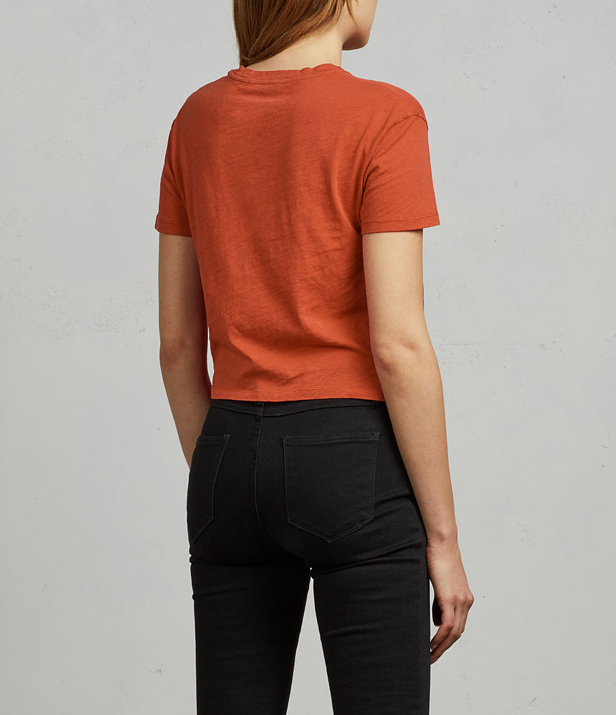 Women's Carme Fifi Tee (poppy_red) - Image 4