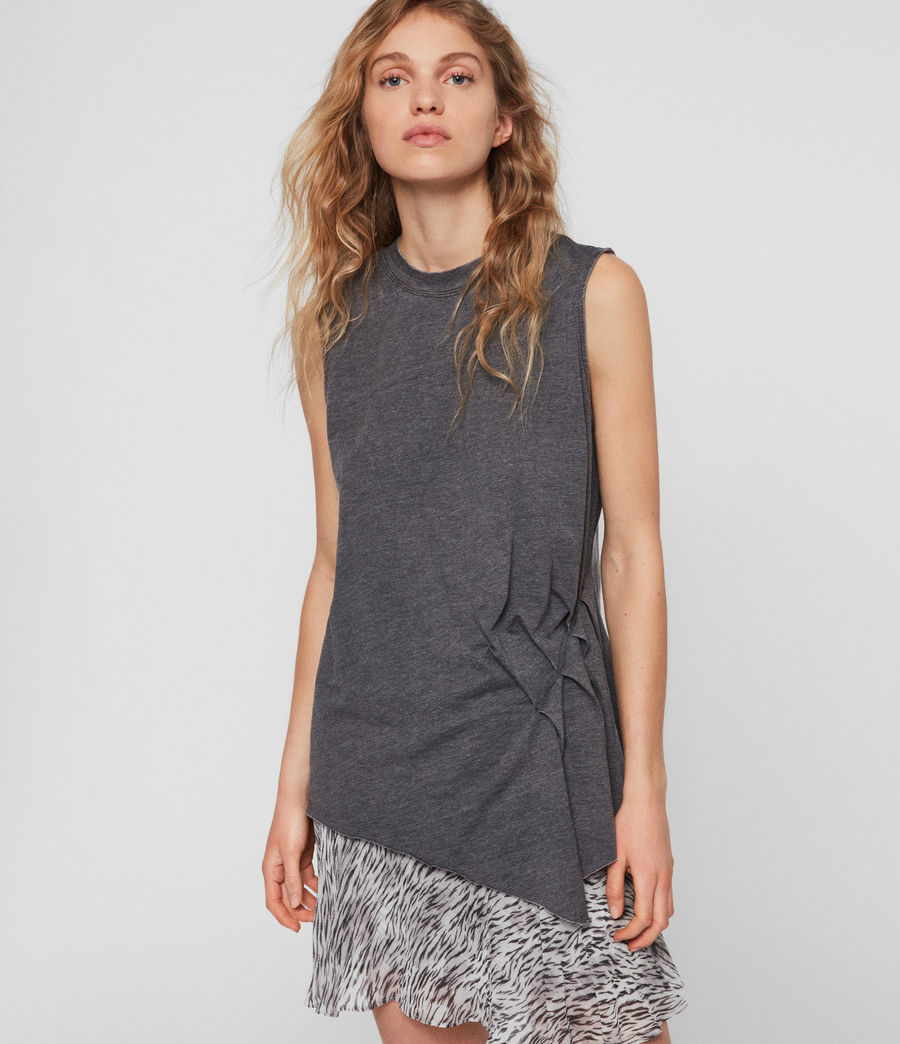 Women's Duma Tank (coal_grey) - Image 1