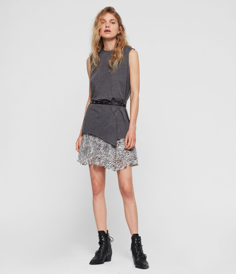 Women's Duma Tank (coal_grey) - Image 2