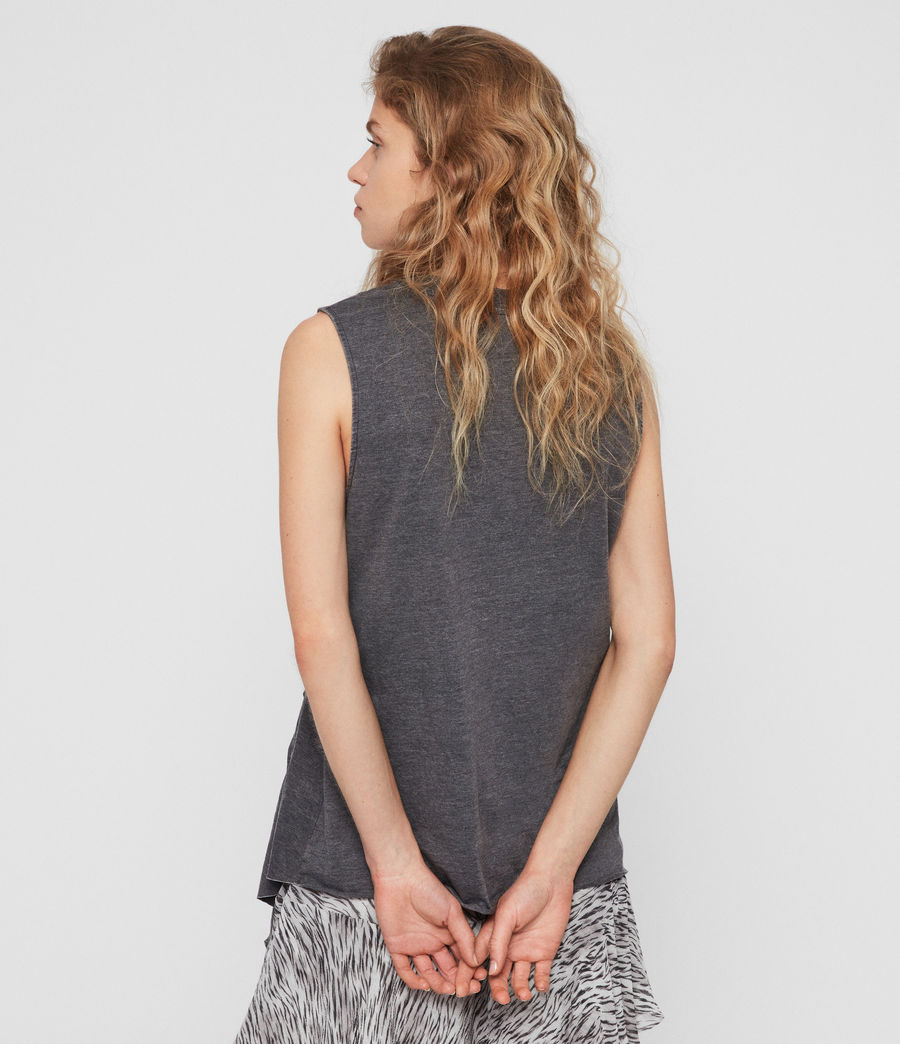 Women's Duma Tank (coal_grey) - Image 4